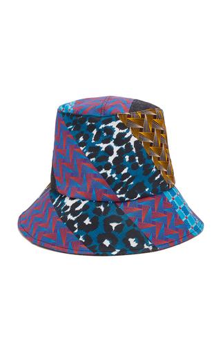 ALBERTUS SWANEPOEL | Albertus Swanepoel Sabona Patchwork-Effect Cotton Bucket Hat | Goxip