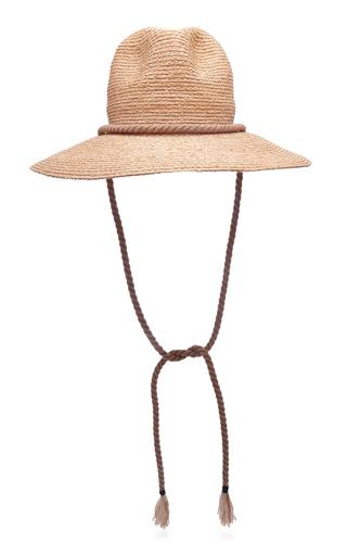 ALBERTUS SWANEPOEL | Albertus Swanepoel St Croix Raffia Hat | Goxip