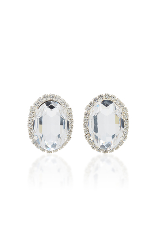 16ARLINGTON | 16Arlington Crystal Button Earrings | Goxip