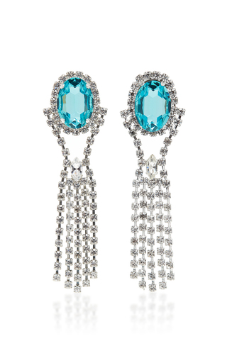 16ARLINGTON | 16Arlington Crystal Drip Earrings | Goxip