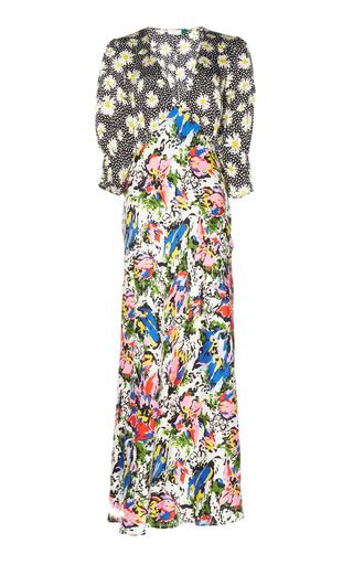 Rixo London Zadie Silk Satin Dress
