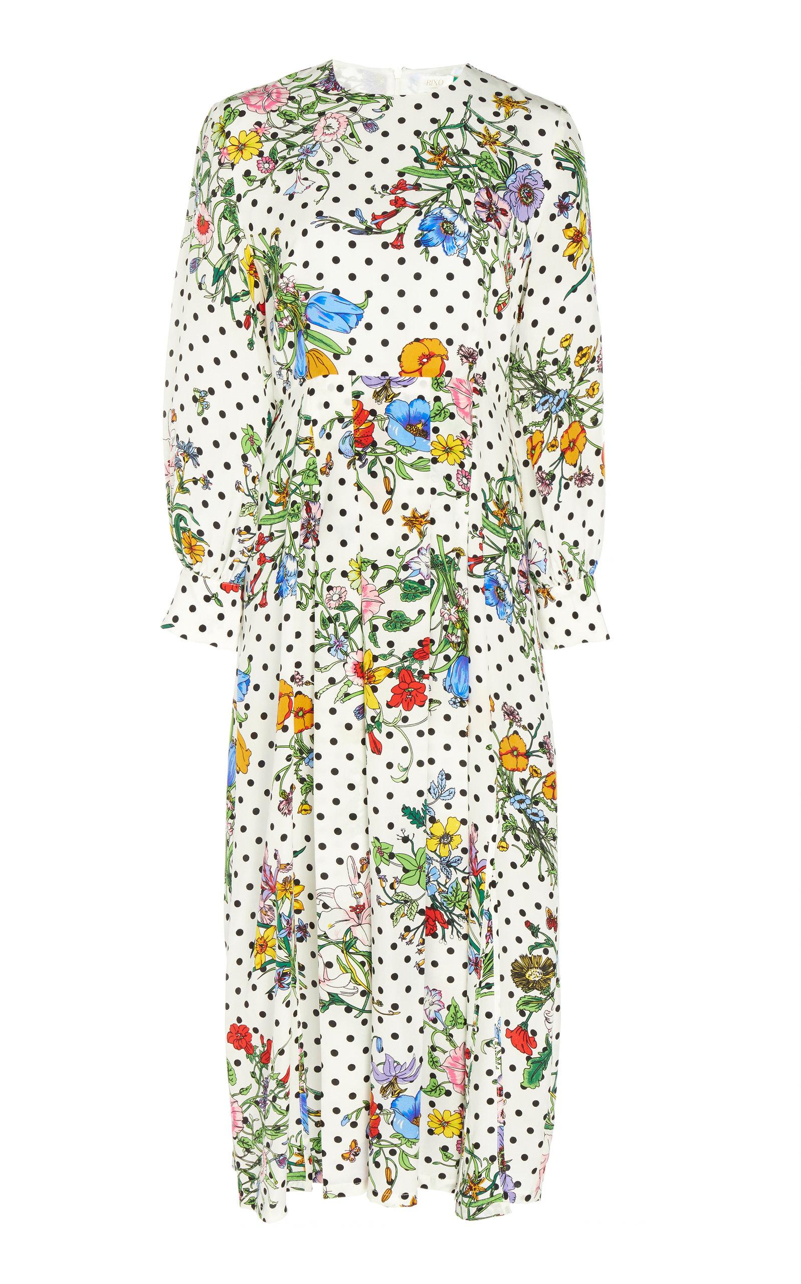 7312bfbc956 Emma Silk Floral Dress by RIXO