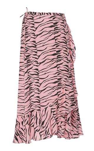 Rixo London Gracie Printed Silk Skirt