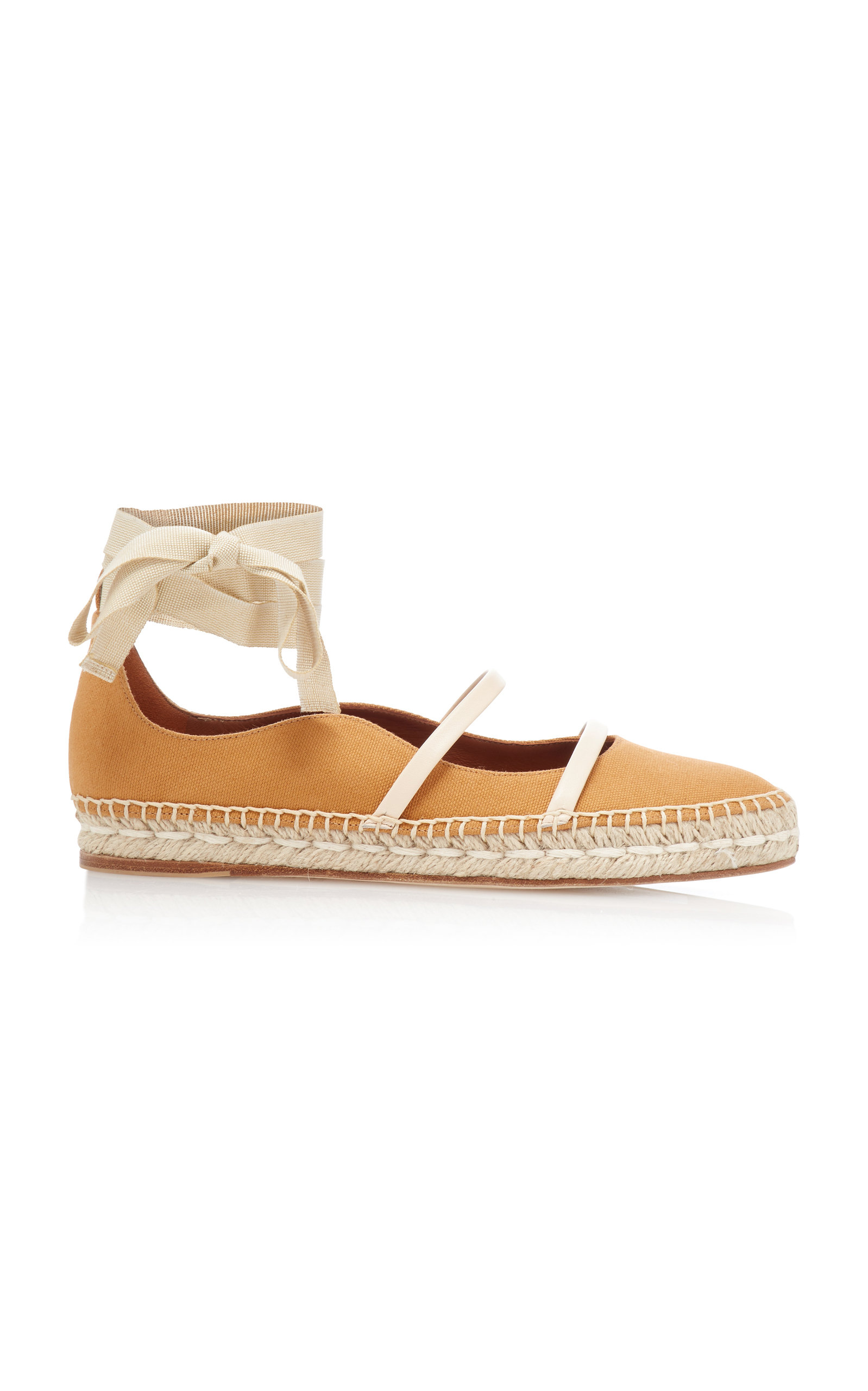 MALONE SOULIERS | Malone Souliers Selina Espadrille Canvas Flats | Goxip