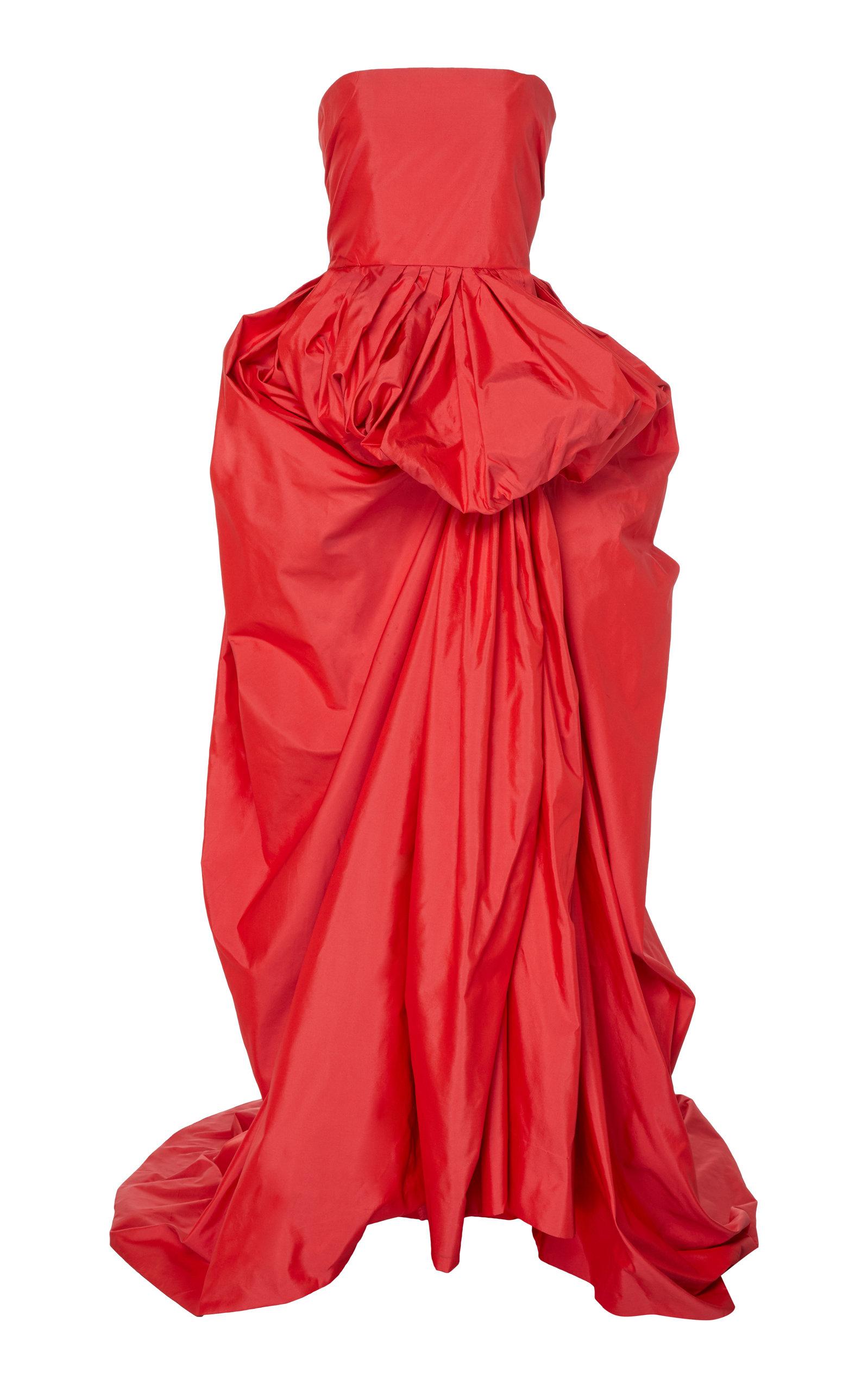 f370b473f4 Martin GrantStrapless Silk Dress. CLOSE. Loading
