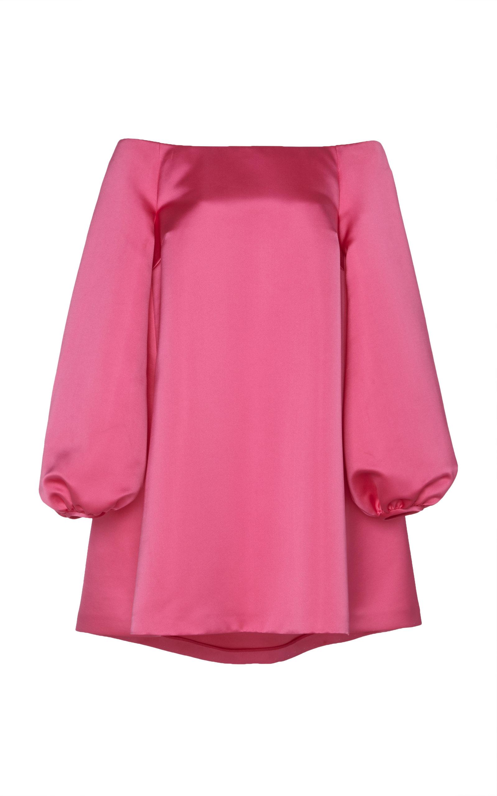 67aeb87ae5f5 Off-The-Shoulder Baby Doll Dress by Sara Battaglia