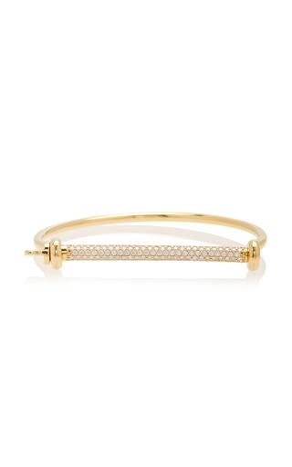 MIANSAI | MIANSAI 14K Gold Diamond Cuff | Goxip