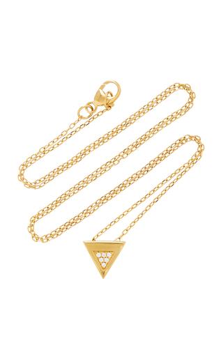 MIANSAI | MIANSAI Faction 14K Gold Diamond Necklace | Goxip