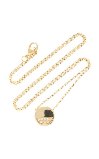 MIANSAI | MIANSAI Circuit 14K Gold Diamond Necklace | Goxip