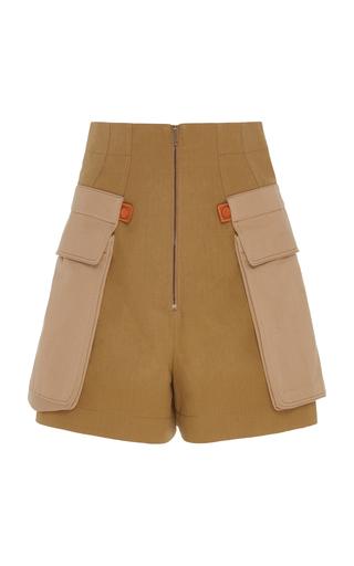 LOEWE | Loewe Cotton-Twill Cargo Shorts | Goxip