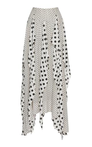 CYCLAS | Cyclas Waterfall Ruffle Silk Skirt | Goxip