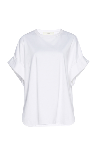 CYCLAS | Cyclas Cuffed Cotton Top | Goxip