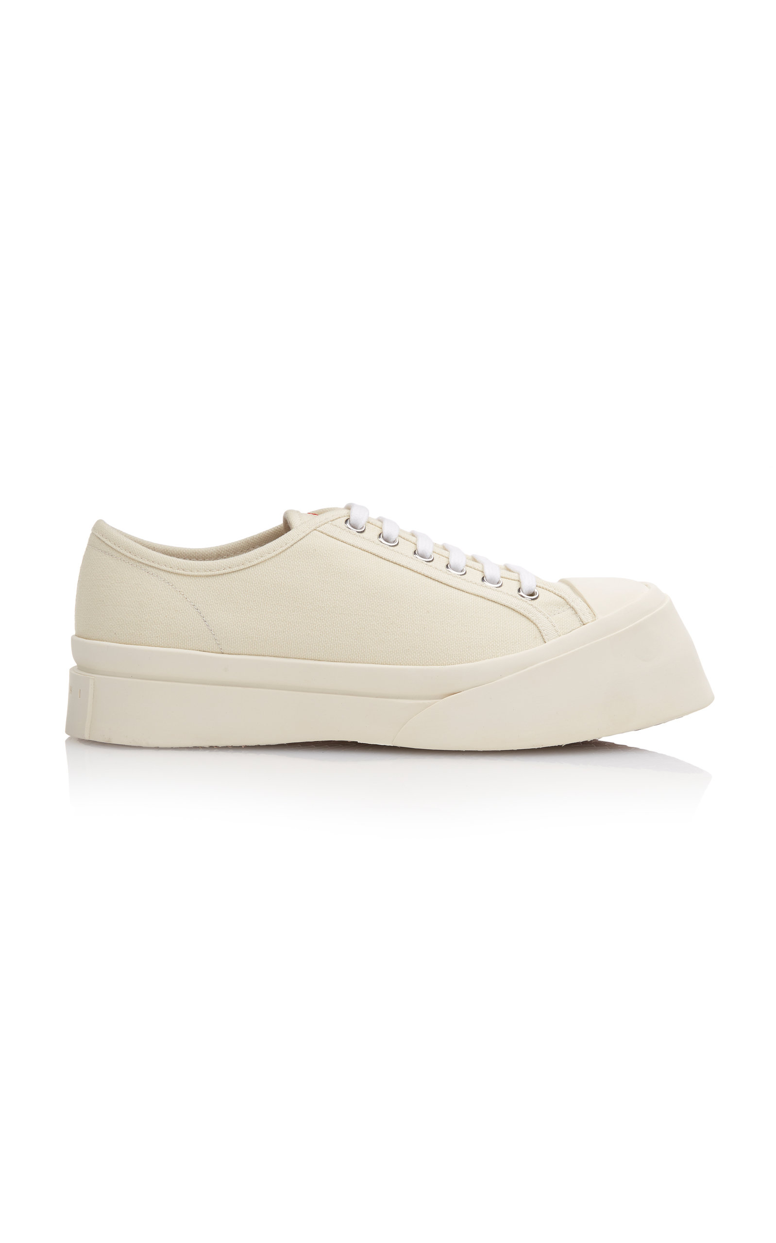 MARNI | Marni Platform Canvas Sneakers | Goxip