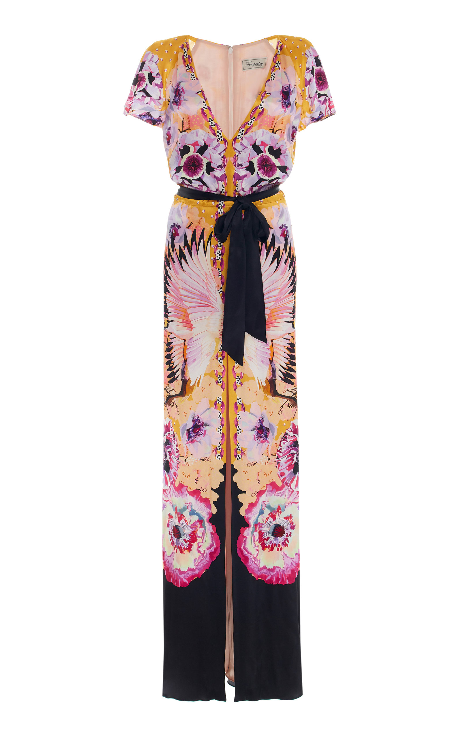 ee9597033be6 Giselle Printed Crepe Maxi Dress by Temperley London | Moda Operandi