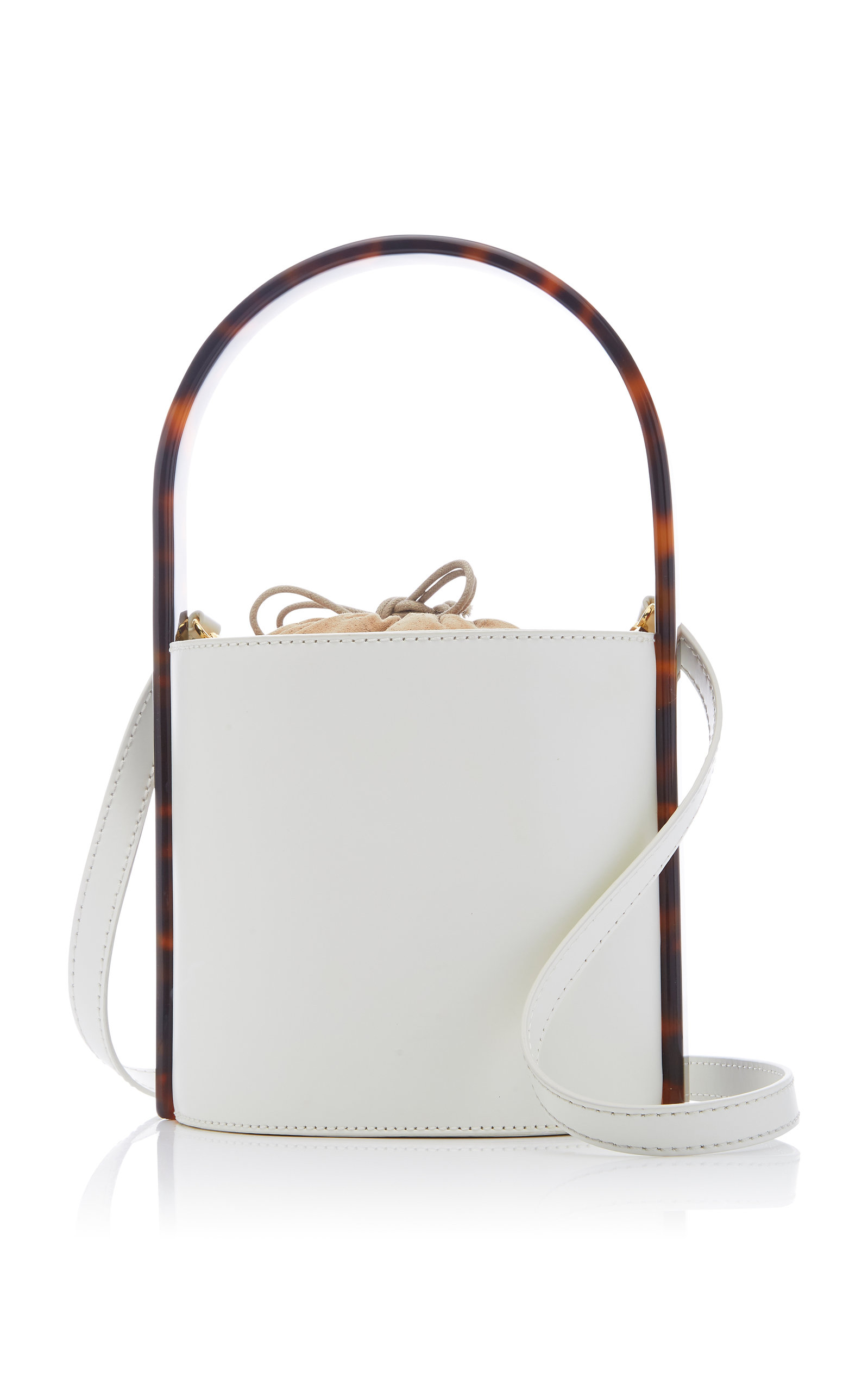 STAUD | Staud Bissett Leather Bag | Goxip