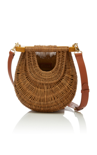 Staud 'Goldie' Wicker Bag