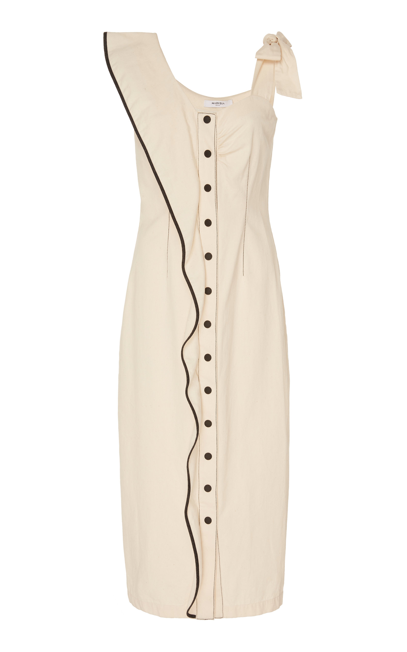 Marysia NORTHFORK COTTON-TWILL MIDI DRESS