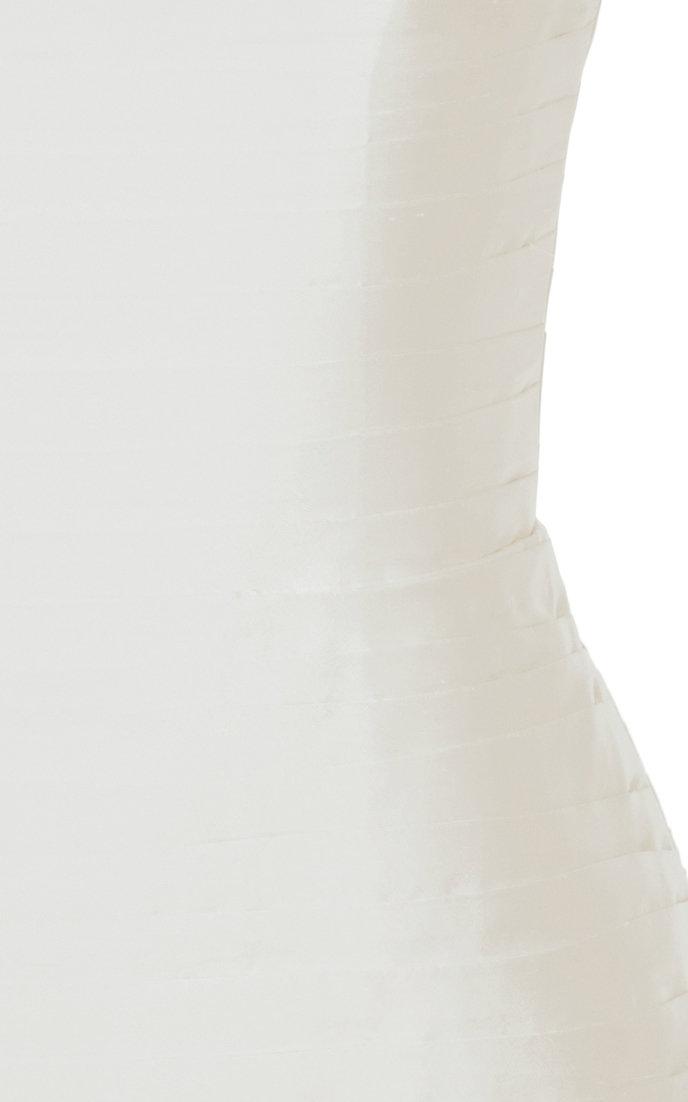 6e4f2d2e69cc Low-Back Silk Mini Dress by Rasario   Moda Operandi