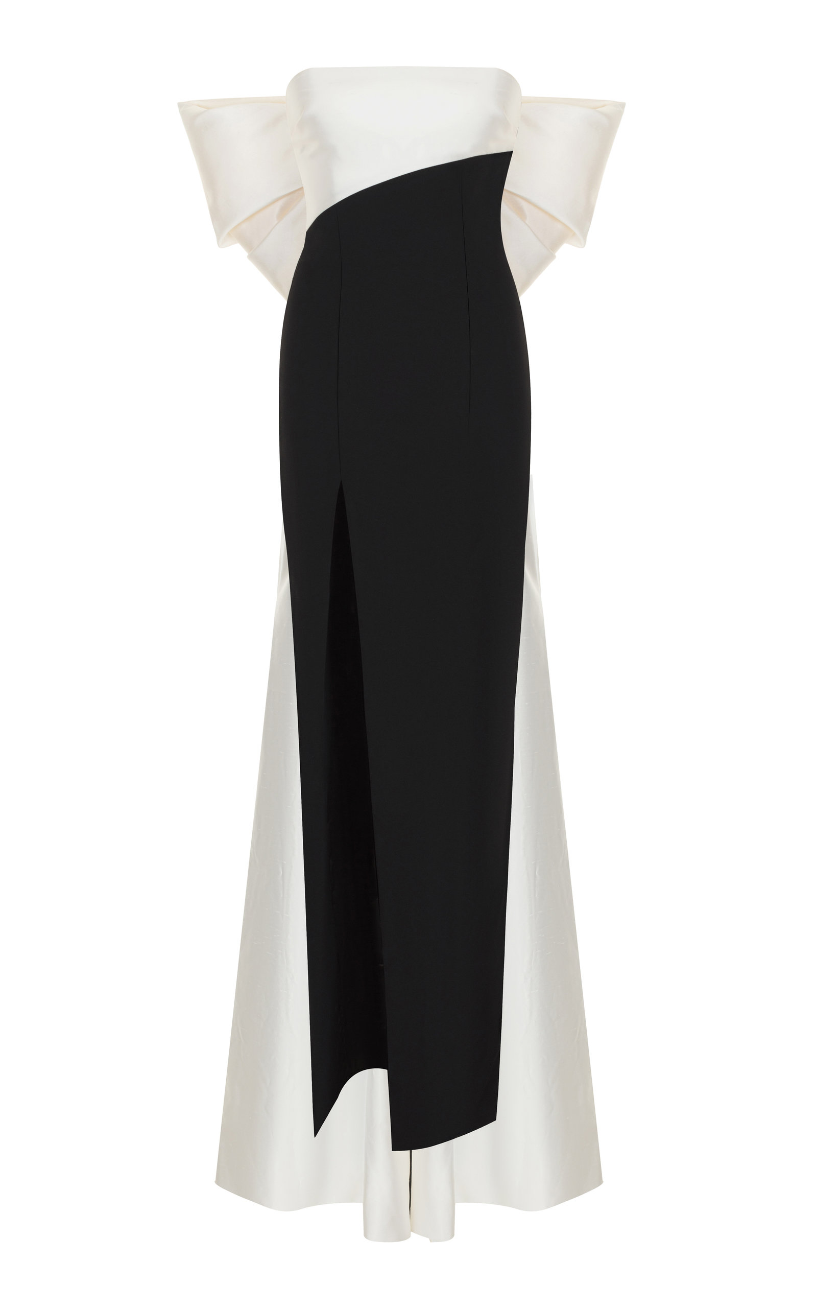 cd1961dfaa9 Bow Detail Silk Blend Gown By Rasario Moda Operandi. Superbalist Fit And Flare  Dress With Back Bow Detail Black