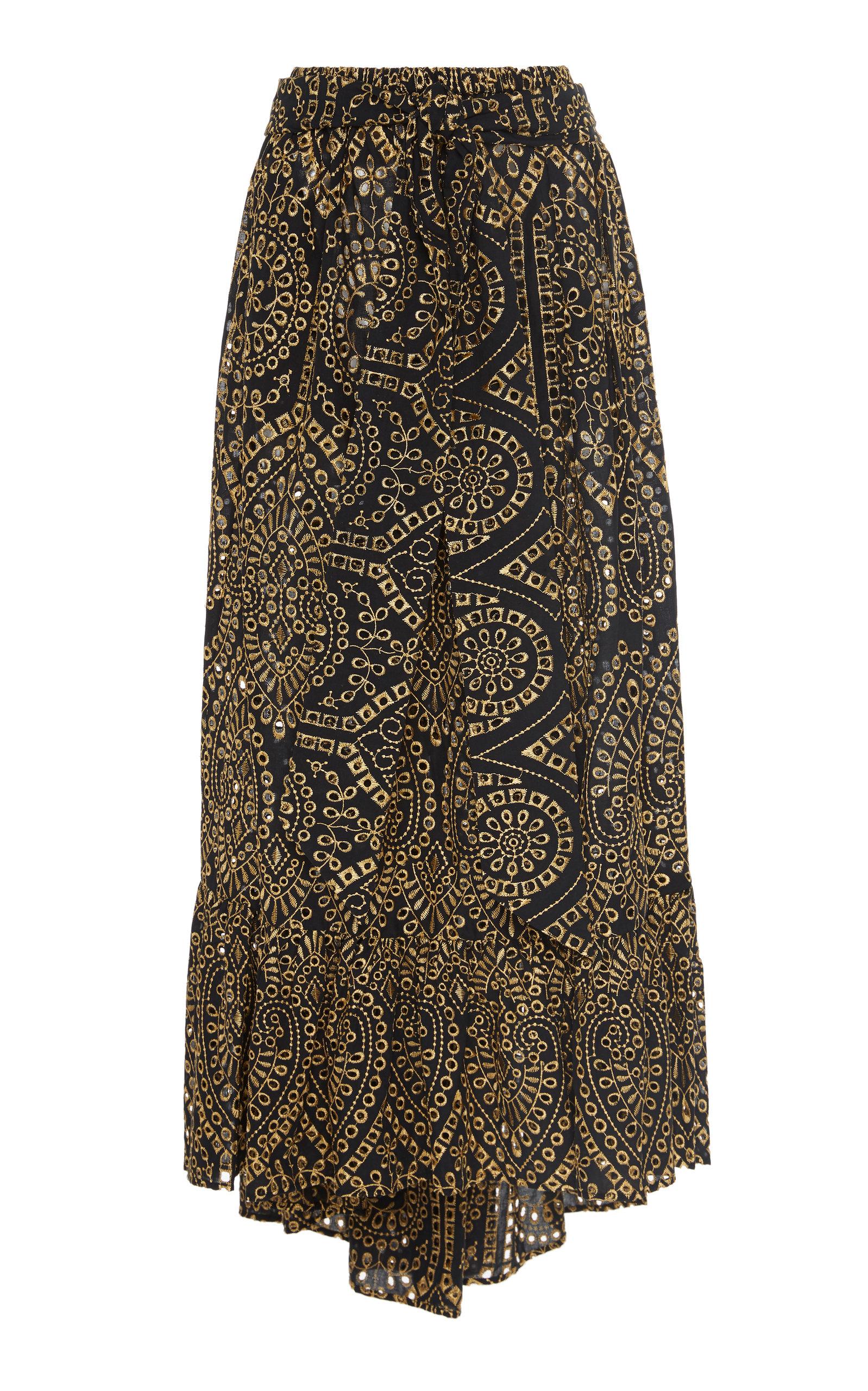 Lisa Marie Fernandez Skirts Nicole Cotton Broderie Anglaise Skirt