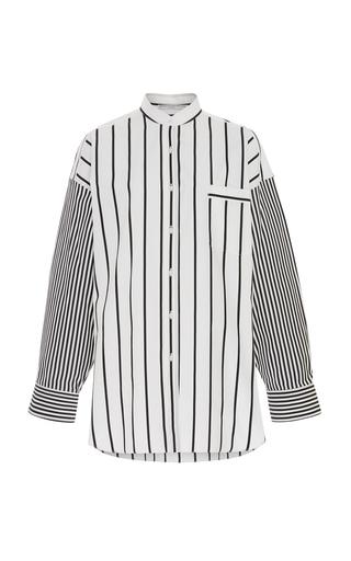 326f44b7930915 Ermanno ScervinoStriped Cotton-Poplin Shirt