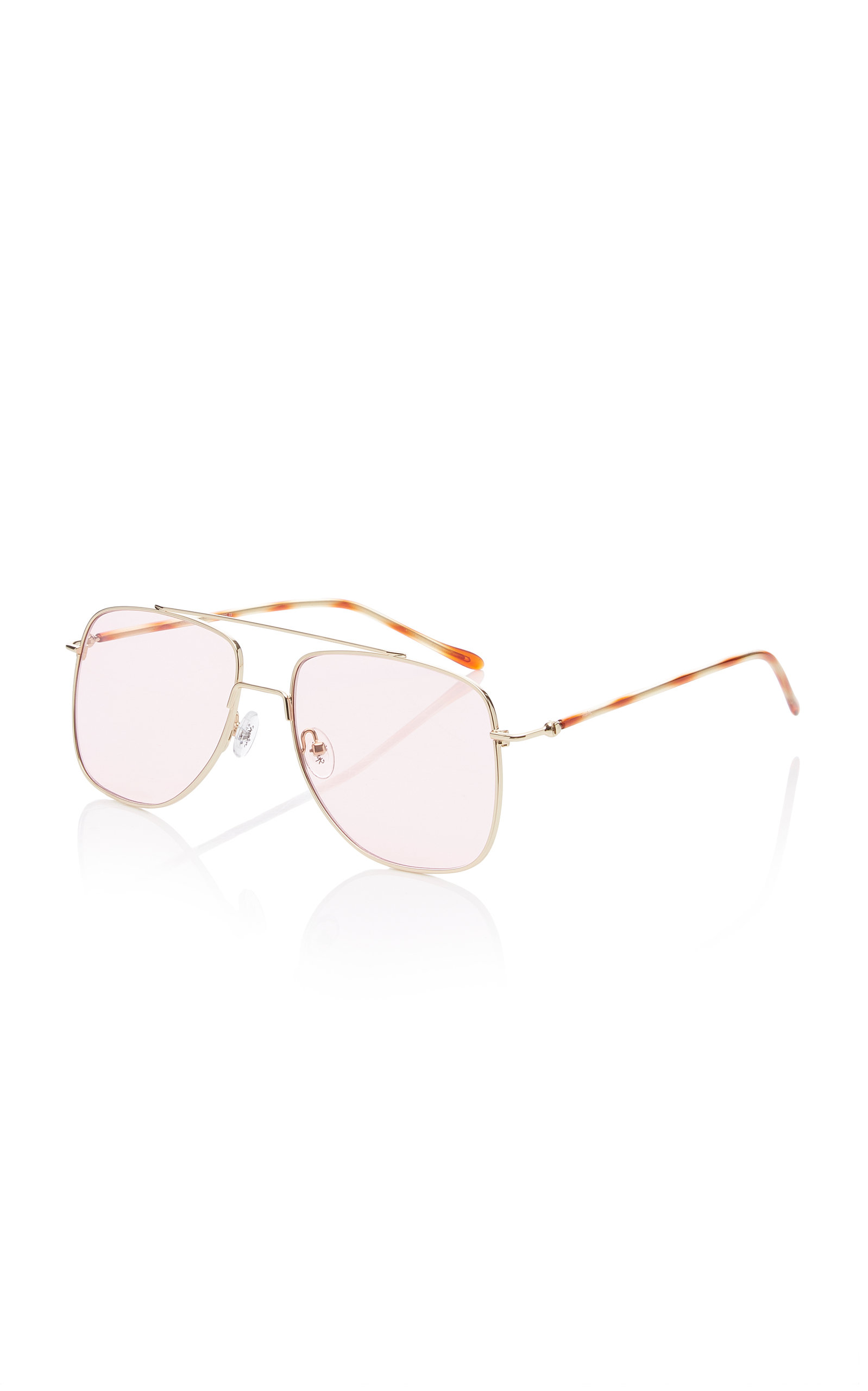8e0983b5a SpektreMaranello Aviator-Style Silver-Tone Sunglasses. CLOSE. Loading.  Loading