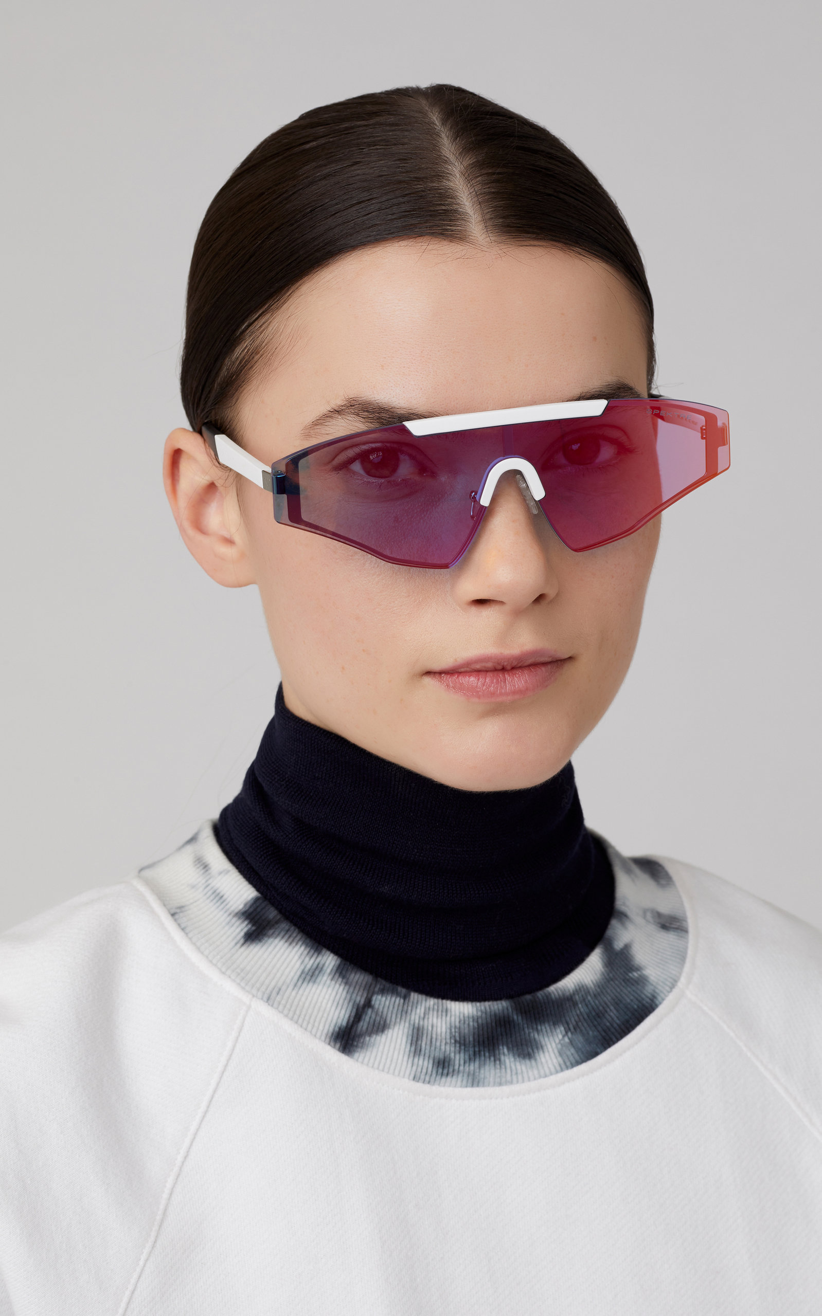 2b71423d6 Vincent Aviator-Style Gunmetal-Tone Sunglasses by Spektre   Moda Operandi
