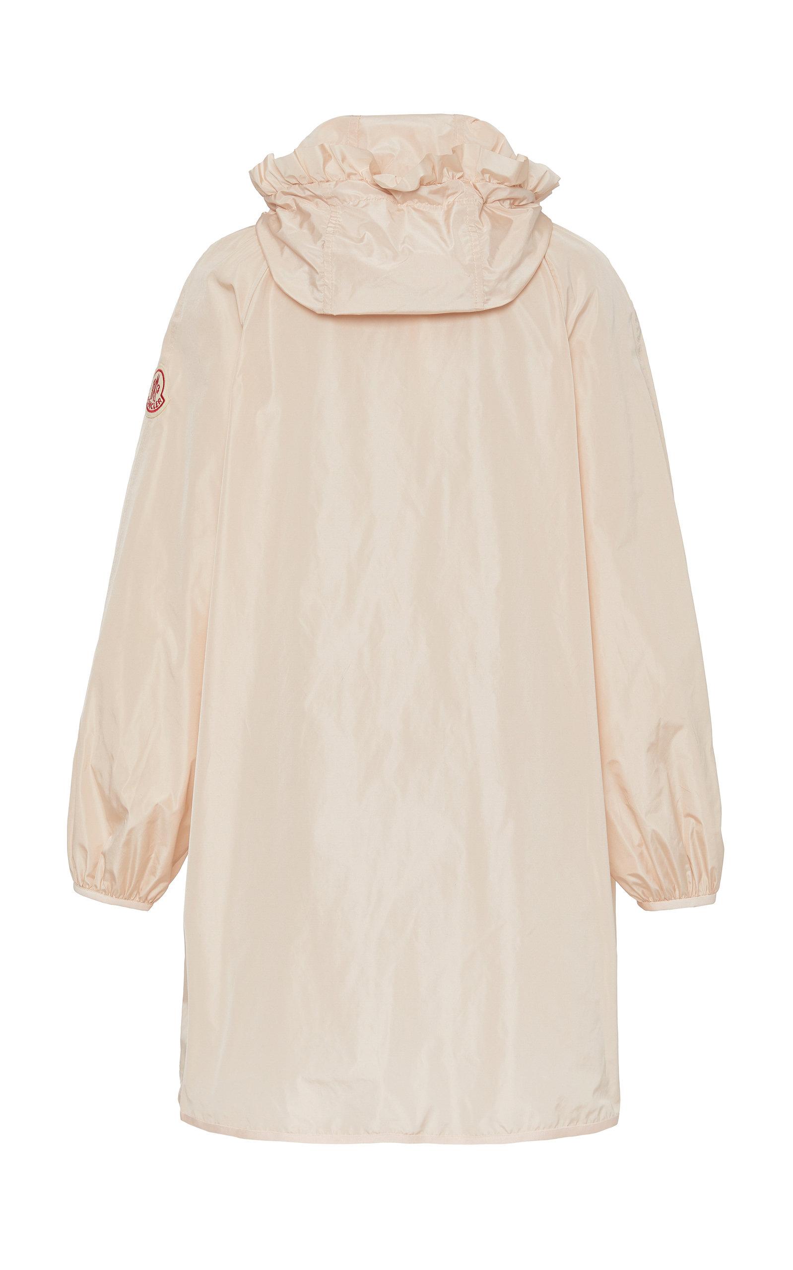 818e32b99d52 Simone Rocha Geranium Ruffled Shell Hooded Coat by Moncler Genius ...