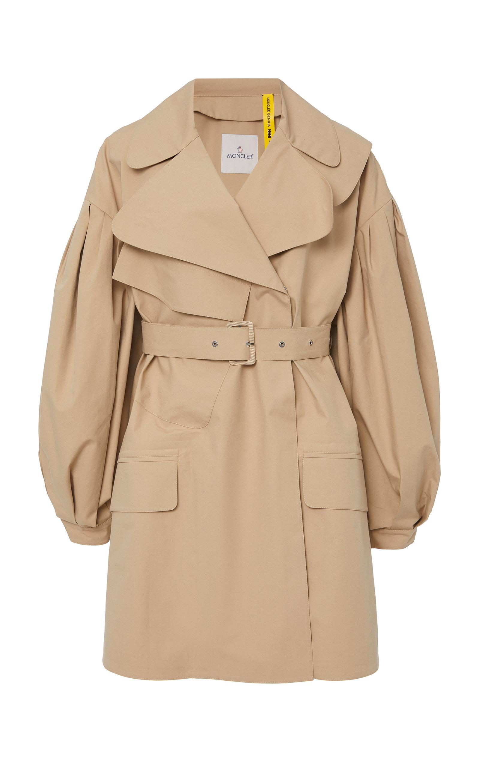 Moncler Genius Coats + SIMONE ROCHA GABARDINE TRENCH COAT