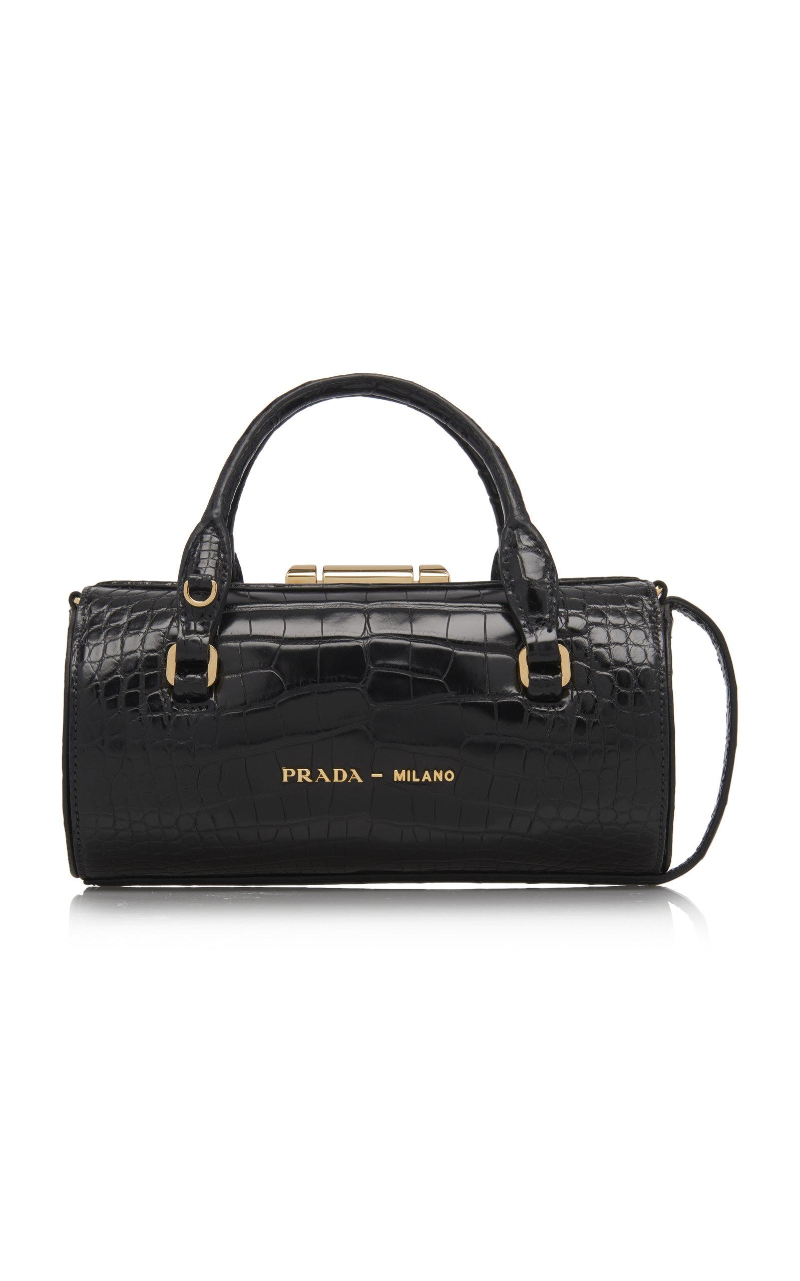 5f38d2c49451 Crocodile Shoulder Bag by Prada   Moda Operandi