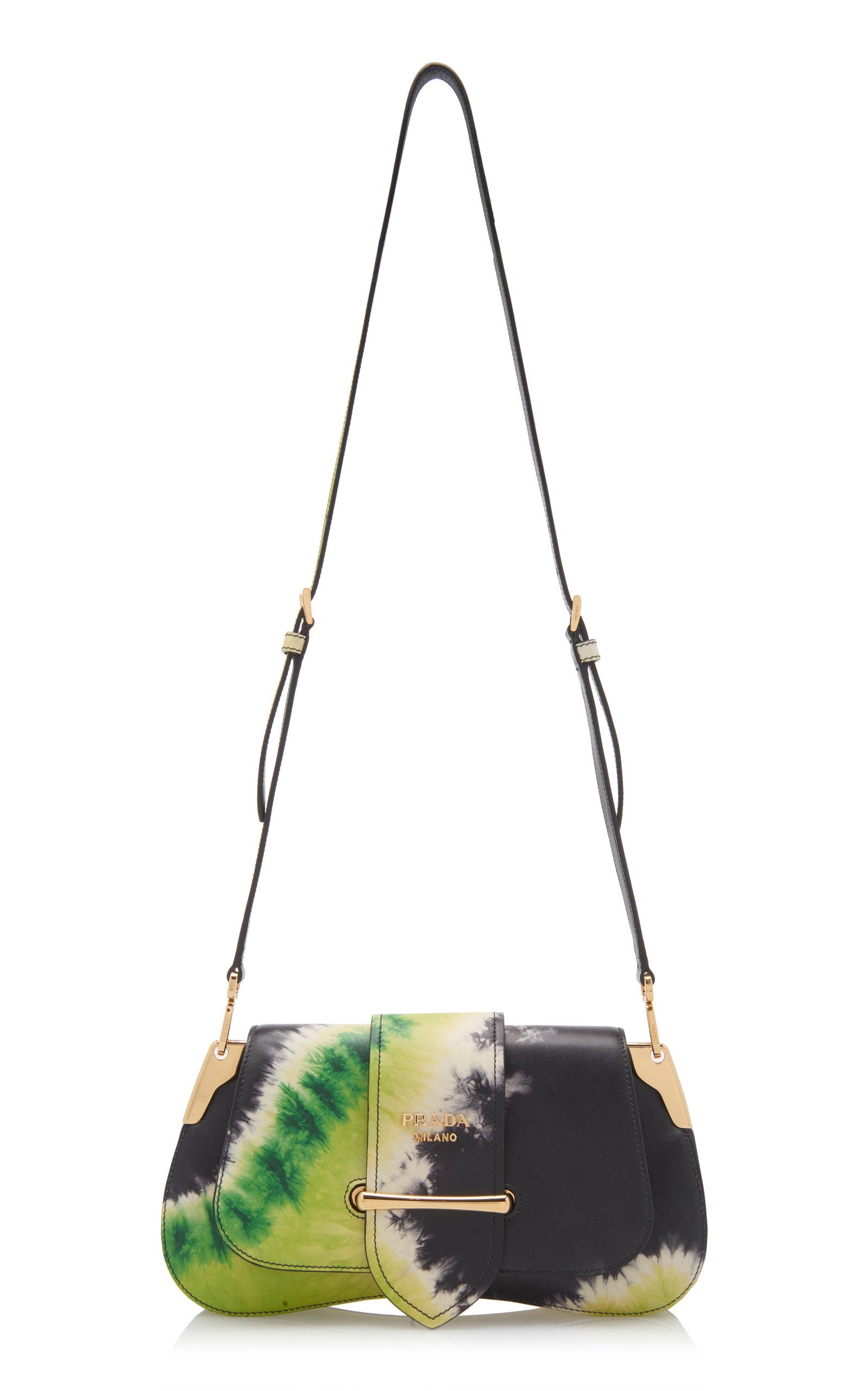 8c7ea4528312 Pattina Tie-Dye Leather Shoulder Bag by Prada   Moda Operandi