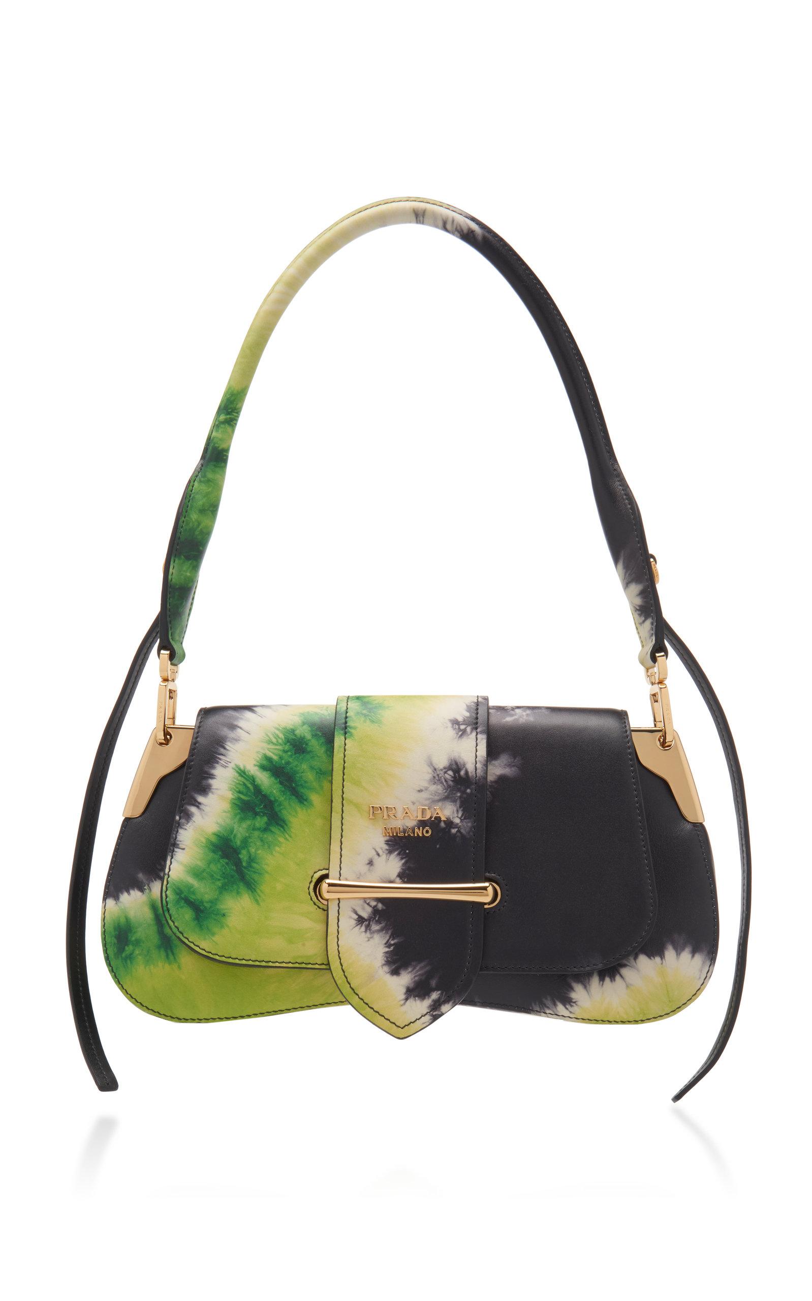 bc7f2c59543c1 PradaPattina Tie-Dye Leather Shoulder Bag. CLOSE. Loading