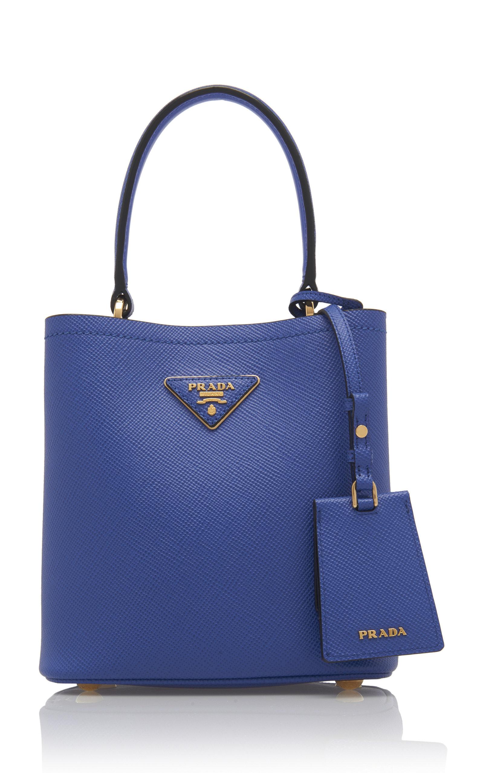 1ea17c91a2e5 Small Saffiano Leather Double Bucket Bag by Prada | Moda Operandi