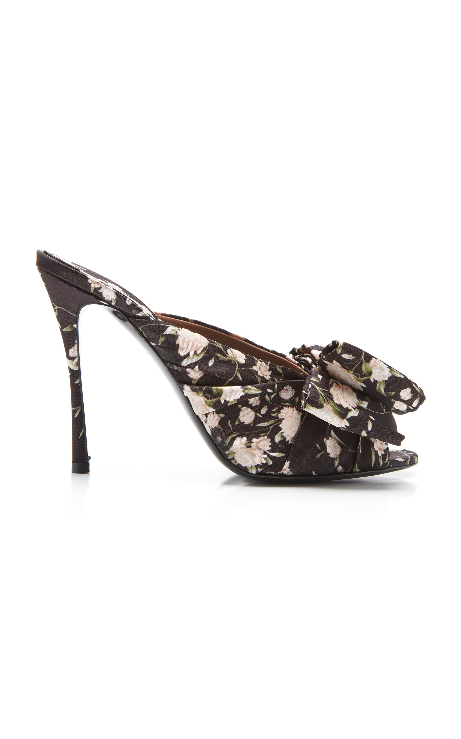 Silk Mules Tabitha Bow By Lollie X Printed Detailed Simmons Johanna jqpMGLSUzV
