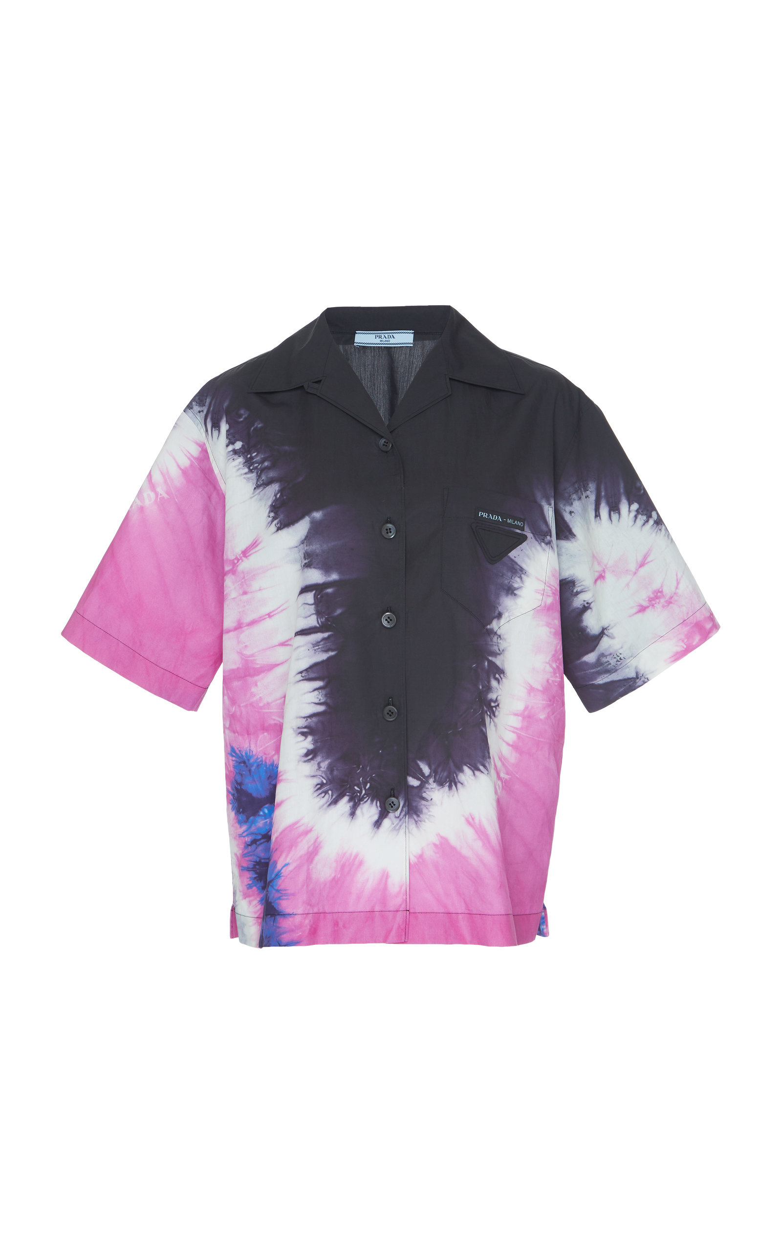 900420092bd Tie-Dye Cotton Shirt by Prada