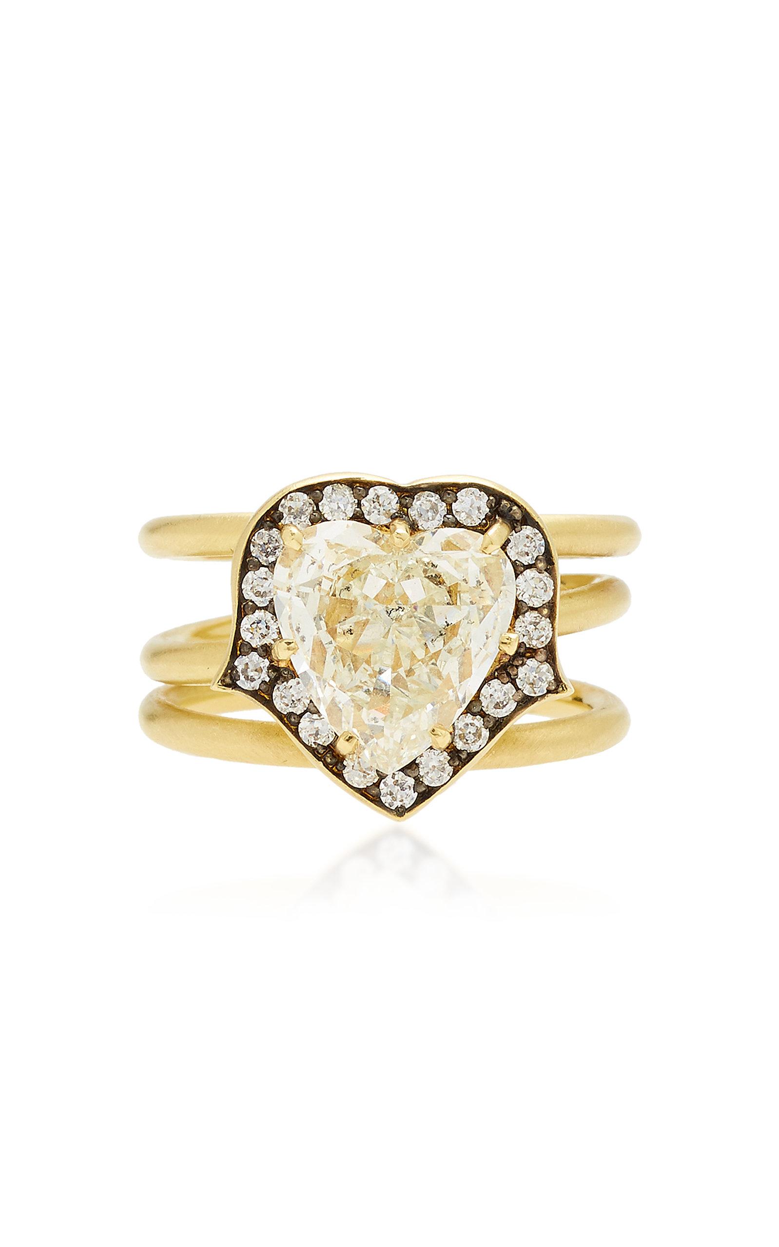 SYLVA & CIE 18K Gold Diamond Ring