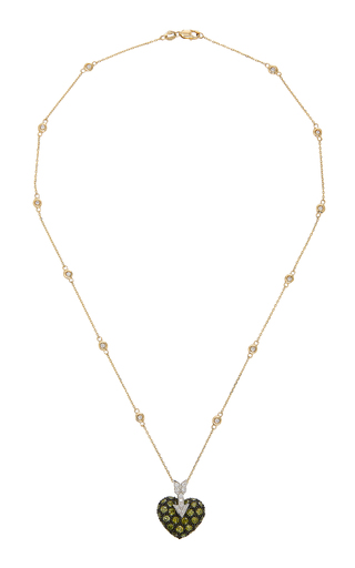 GIOIA | Gioia 18K Gold Diamond Necklace | Goxip