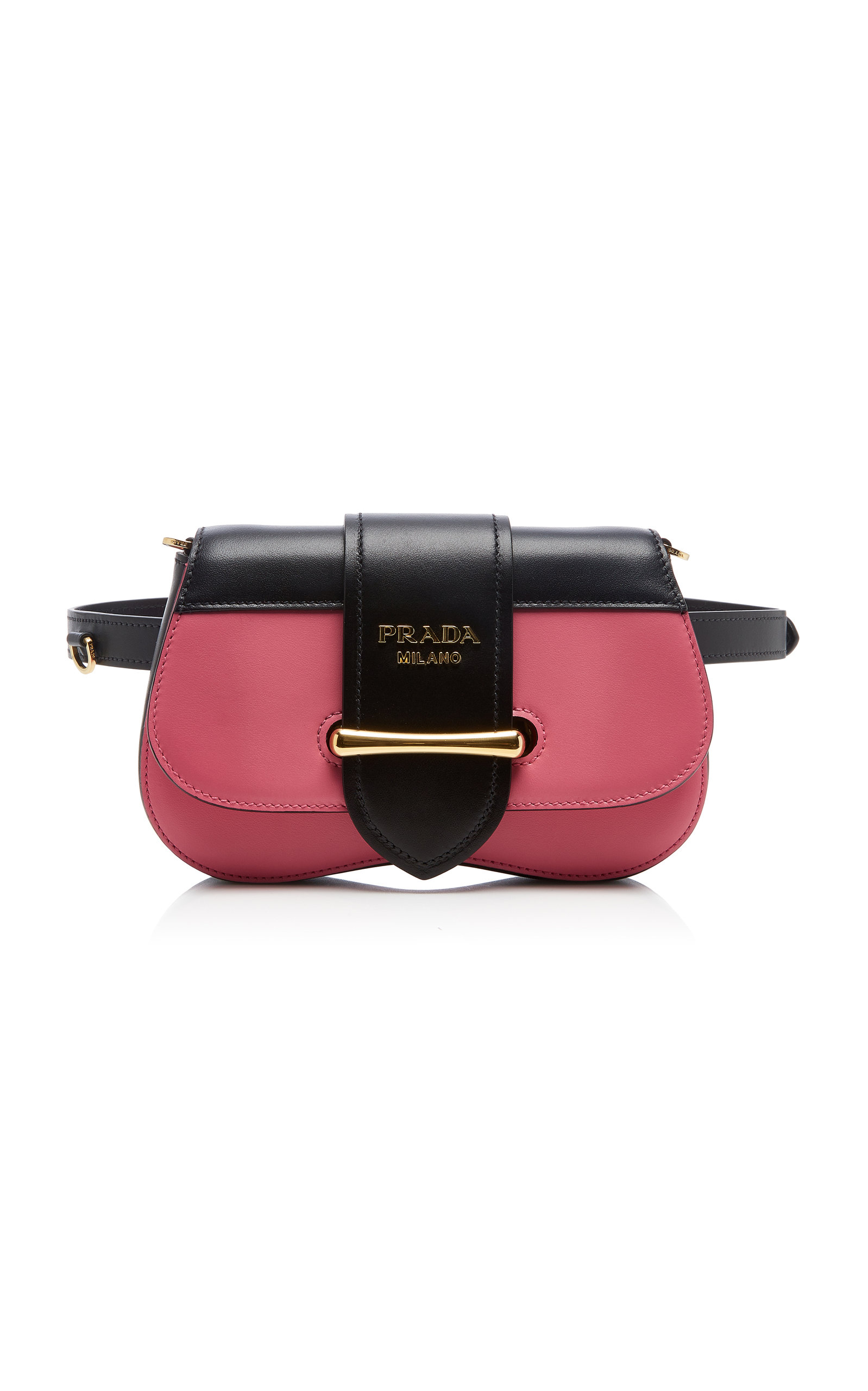 5eb9d636720c Sidonie Two-Tone Leather Belt Bag by Prada | Moda Operandi