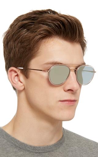 f998c9f78 Rose Gold-Tone Aviator Sunglasses by Thom Browne Sun | Moda Operandi