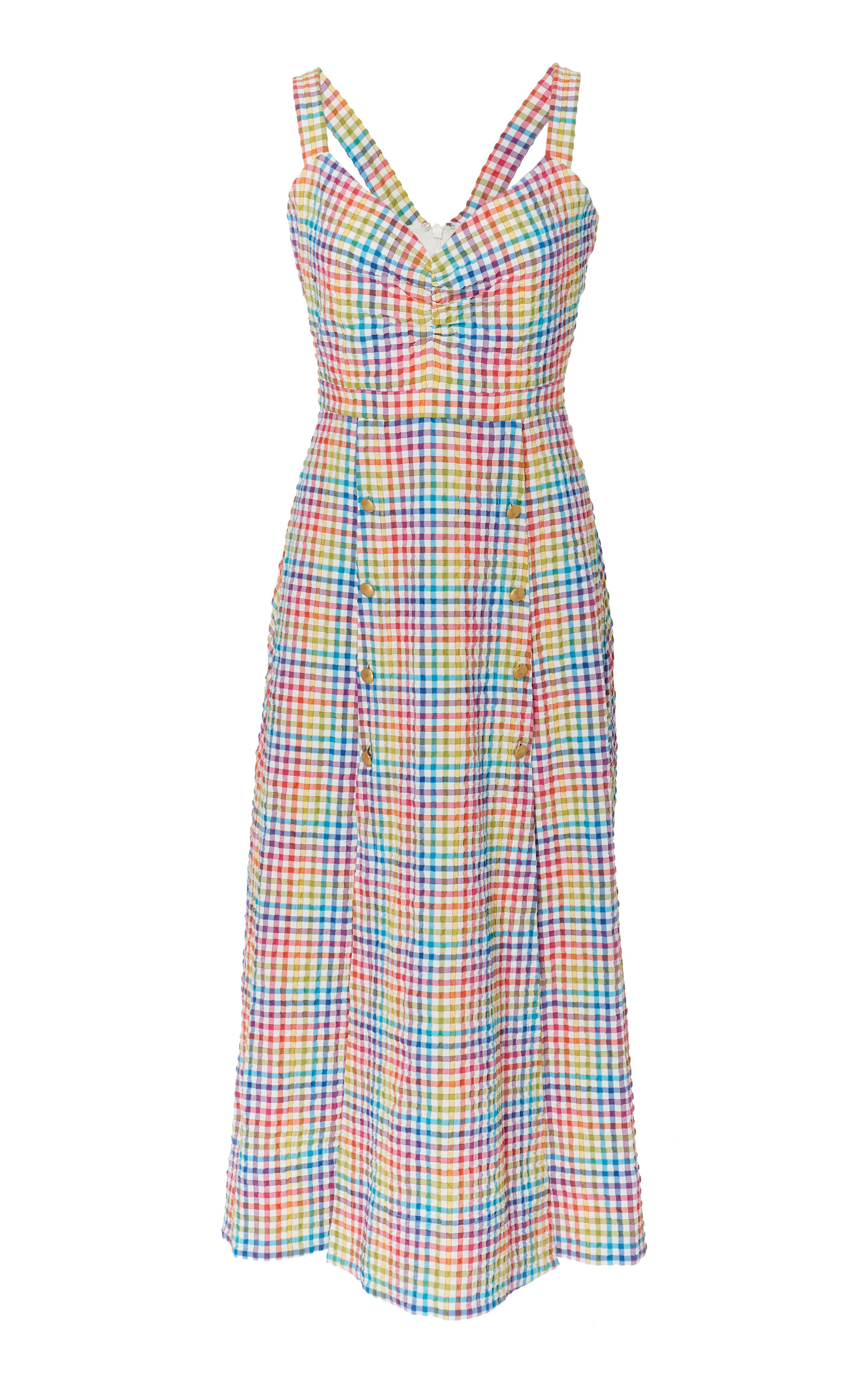 Saloni ANYA RAINBOW DRESS