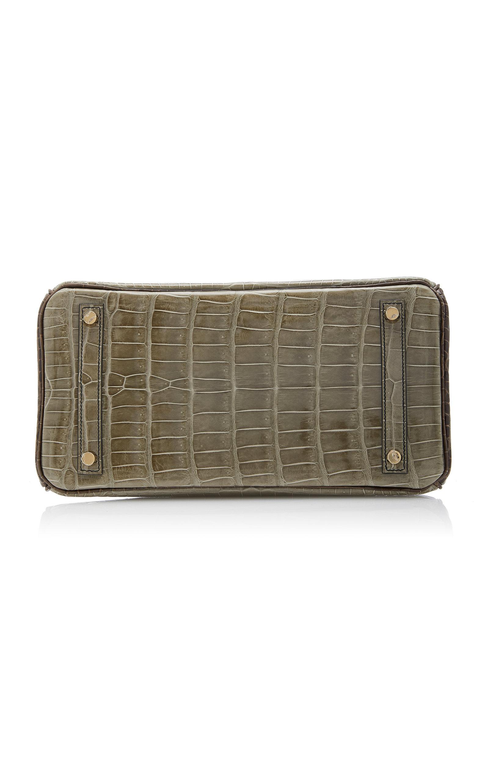 20af3e6d6161 Hermès Vintage by Heritage AuctionsHermès 30cm Gris Elephant and Gris  Tourterelle Crocodile Birkin. CLOSE. Loading. Loading