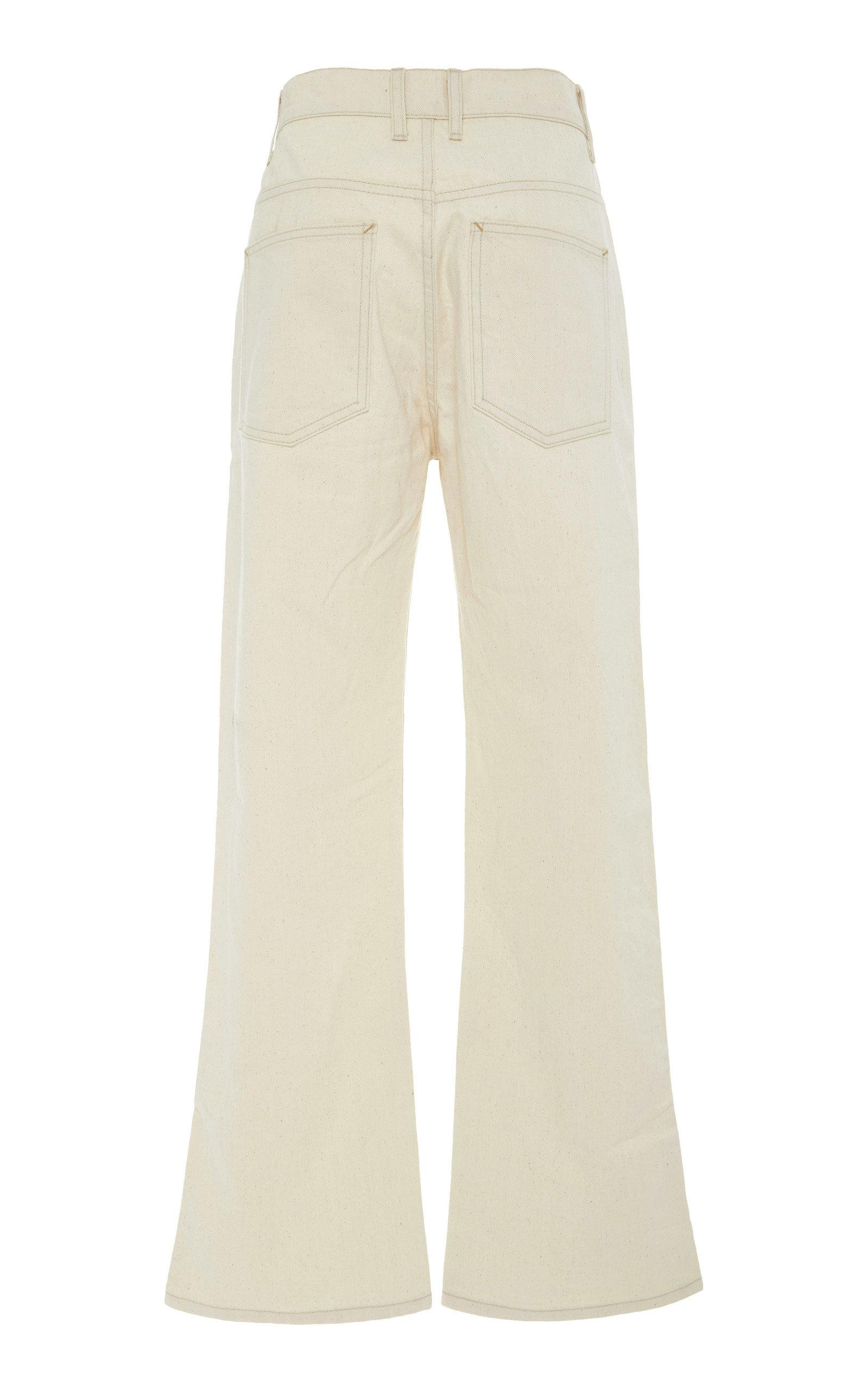 291ead6605 Plein High-Rise Straight-Leg Jeans