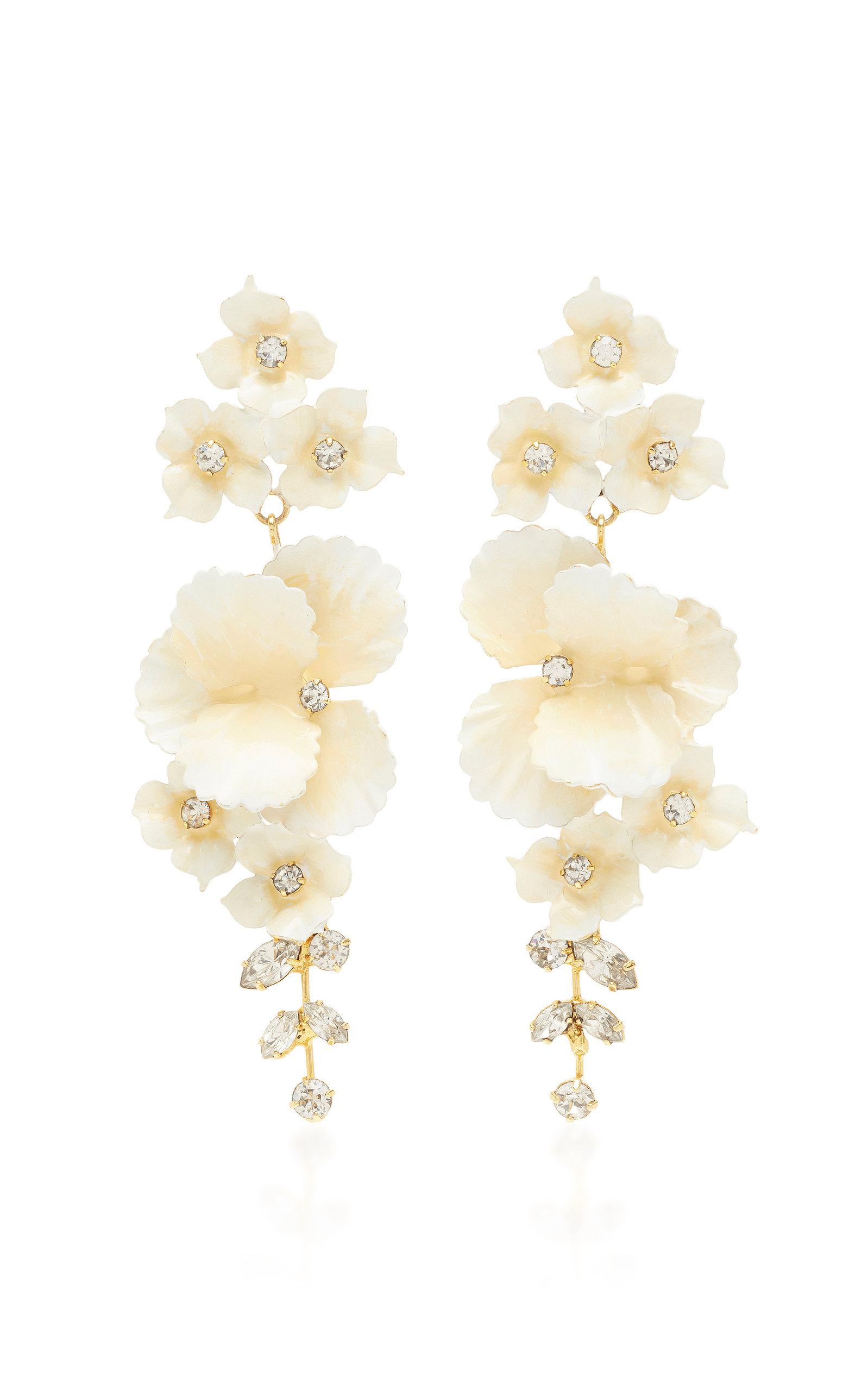 Sabine Gold-Tone Crystal Earrings