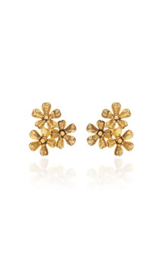 45fa7de16 Tallulah Mother-Of-Pearl Gold-Tone Earrings by Jennifer Behr | Moda ...