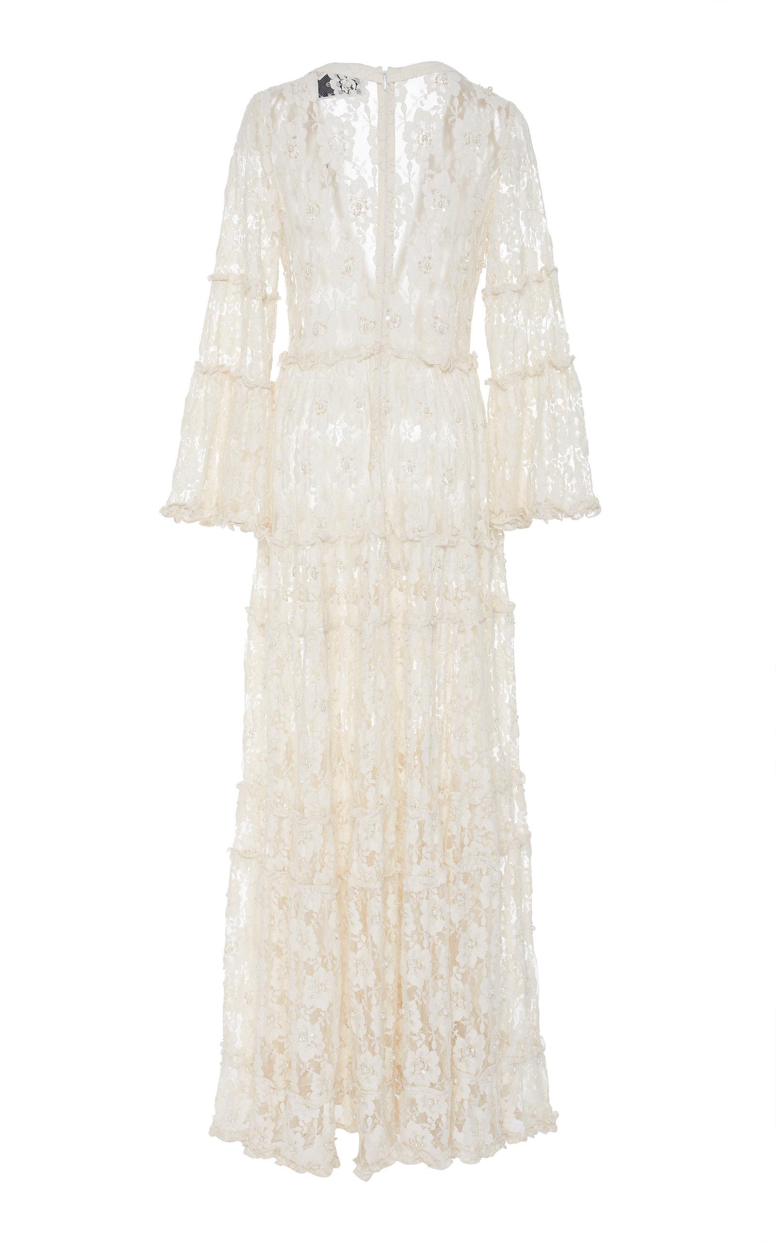 7ce78e0c0668 Alvin Beaded Lace Maxi Dress by Alexis | Moda Operandi