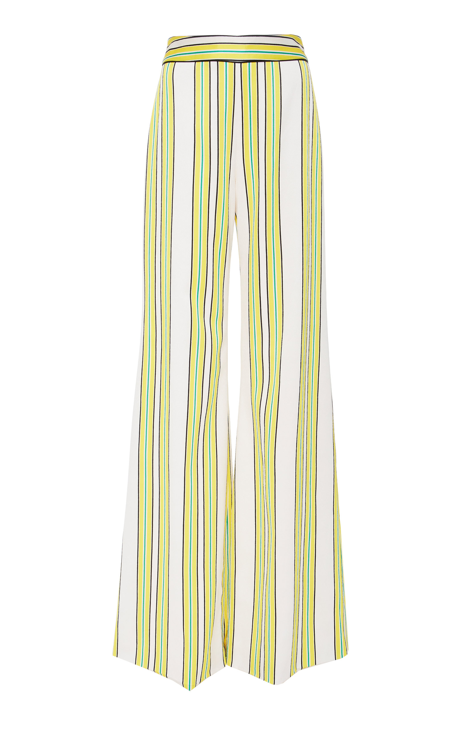 Alexis Tarik Wide Leg Striped Pants