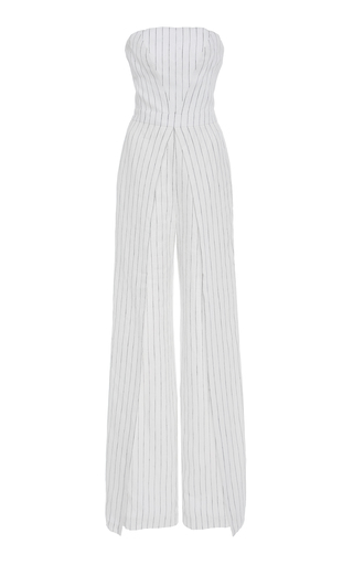 5139443cc83 Fremont Stretch Double Weave Jumpsuit by Tory Burch