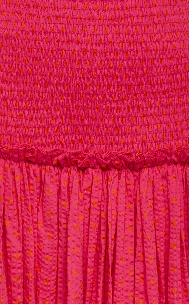 987ae991021658 AlexisLynxa Tiered Cotton Maxi Skirt. CLOSE. Loading. Loading. Loading