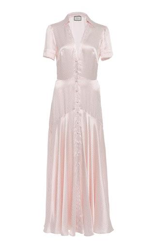 df1324a0c258 AlexisAthene Polka-Dot -Satin Maxi Dress