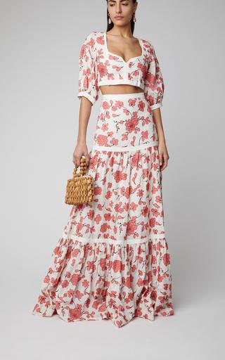 f05322655ae The Last Kashmiri Rose Printed Cotton Maxi Skirt by Johanna Ortiz ...